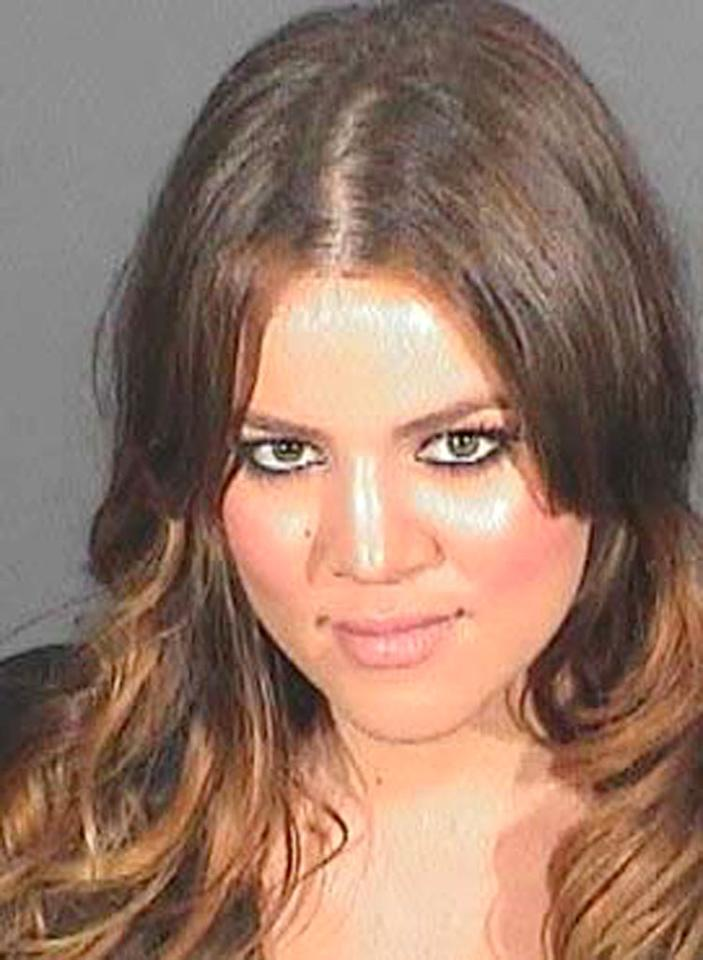 "After being sentenced to 30 days in jail for a 2007 DUI (which she blamed on the death of her father), Khloe Kardashian was released from jail after spending only 173 minutes behind bars. ""As soon as I got to Lynwood, [a correctional facility for women in LA], there were three bomb threats,"" the reality star said on Ryan Seacrest's KIIS-FM radio show. ""They released me early because I was a threat to the prison."" <a href=""http://www.splashnewsonline.com"" target=""new"">Splash News</a> - July 18, 2008"