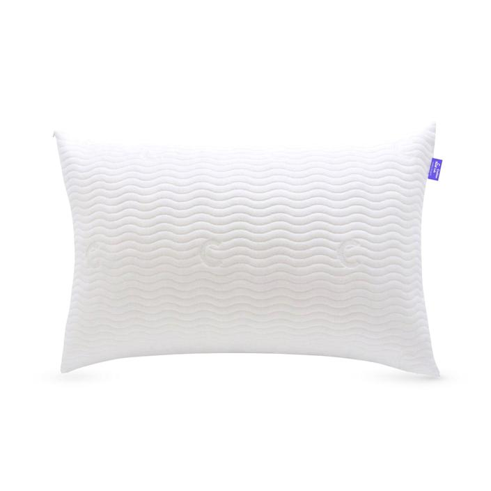 """<p><strong>C CUSHION LAB</strong></p><p>thecushionlab.com</p><p><strong>$52.00</strong></p><p><a href=""""https://go.redirectingat.com?id=74968X1596630&url=https%3A%2F%2Fthecushionlab.com%2Fproducts%2Fthe-adjustable-shredded-memory-foam-pillow&sref=https%3A%2F%2Fwww.goodhousekeeping.com%2Fhome-products%2Fpillow-reviews%2Fg30627120%2Fbest-pillows-for-side-sleepers%2F"""" rel=""""nofollow noopener"""" target=""""_blank"""" data-ylk=""""slk:Shop Now"""" class=""""link rapid-noclick-resp"""">Shop Now</a></p><p>This affordable shredded memory foam pillow starts at just $39. It <strong>got rave reviews from our testers for being easy to adjust, </strong>helping keep a stable body temperature, and being overall comfortable and supportive. In Lab testing, it was too large for a standard size pillowcase and it took longer to bounce back to its original shape. The cover is machine washable and was easy to clean in our evaluations. </p><p><strong>Care:</strong> Cover only machine washable<br><strong><strong>Fill: </strong></strong>Shredded memory foam<br><strong><strong>Sizes: </strong></strong>Standard, Queen, and King</p>"""