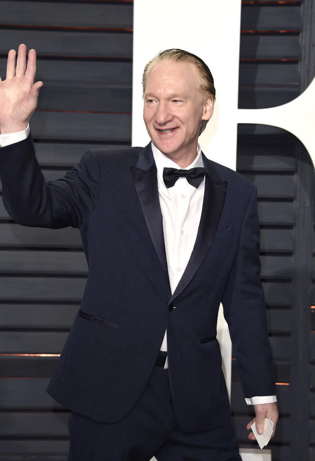 """<p>It should come as no surprise that Bill Maher and Donald Trump don't exactly get along. The liberal talk show host has called rump a """"<span>whiny little bitch</span>,"""" an """"<a href=""""http://www.washingtonexaminer.com/bill-maher-imagines-trump-as-a-superhero-orange-sphincter/article/2623720"""" rel=""""nofollow noopener"""" target=""""_blank"""" data-ylk=""""slk:orange sphincter"""" class=""""link rapid-noclick-resp"""">orange sphincter</a>"""" and """"<a href=""""http://www.huffingtonpost.com/entry/bill-maher-donald-trump-third-week_us_589ebb68e4b0ab2d2b157e8c"""" rel=""""nofollow noopener"""" target=""""_blank"""" data-ylk=""""slk:President Man Baby"""" class=""""link rapid-noclick-resp"""">President Man Baby</a>"""" among many other pet names. Trump doesn't find them amusing. In 2013, he <a href=""""http://www.cnn.com/2013/02/06/showbiz/trump-bill-maher-suit/index.html"""" rel=""""nofollow noopener"""" target=""""_blank"""" data-ylk=""""slk:sued Maher for $5 million"""" class=""""link rapid-noclick-resp"""">sued Maher for $5 million</a> over an orangutan sex joke the talk host made. (Photo by Evan Agostini/Invision/AP) </p>"""