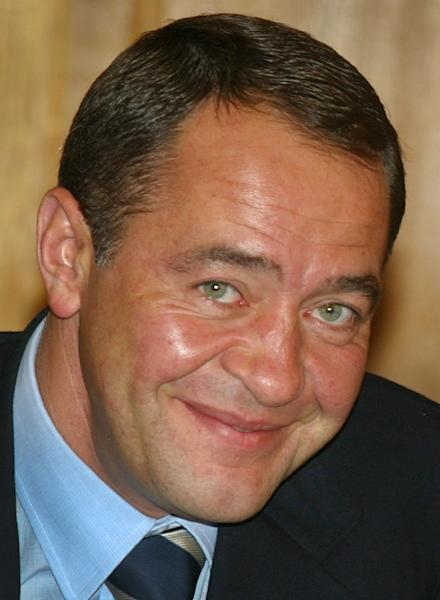 Mikhail Lesin, who helped launch the Russian English-language television network RT, was found dead in a Washington hotel in November at the age of 57 (AFP Photo/Alexander Nemenov)