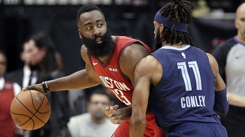 3cfcb036134e James Harden s 43 point triple-double puts him in elite company