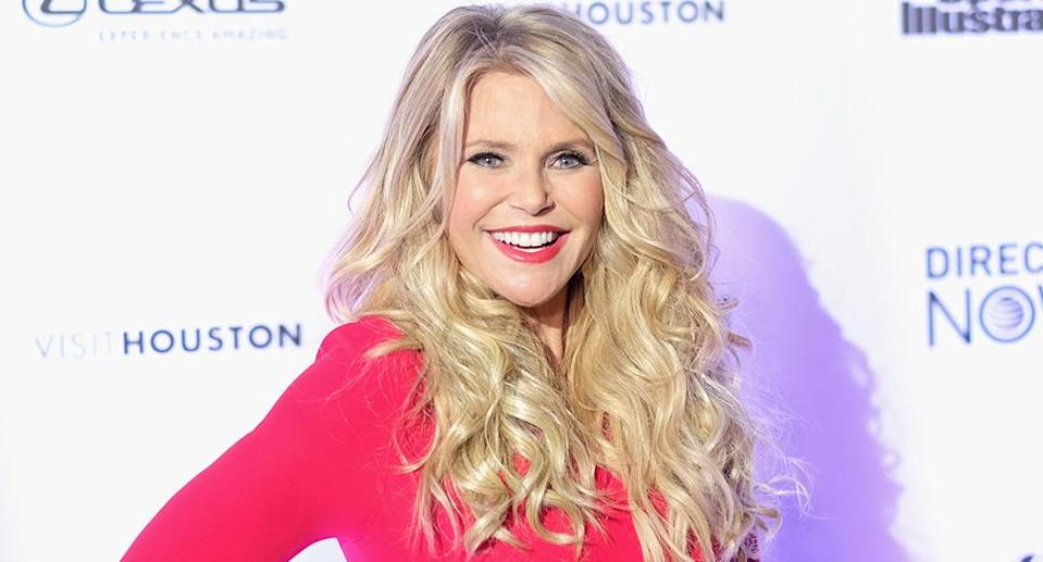 Christie Brinkley attends Sports Illustrated Swimsuit 2017 New York City launch event. (Photo by Nicholas Hunt/Getty Images for Sports Illustrated)