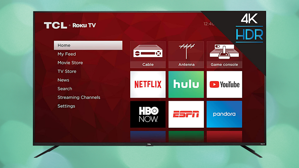 Save $136 on this TCL 65-inch 4K Ultra HD Roku Smart LED TV (65S425). (Photo: TCL)