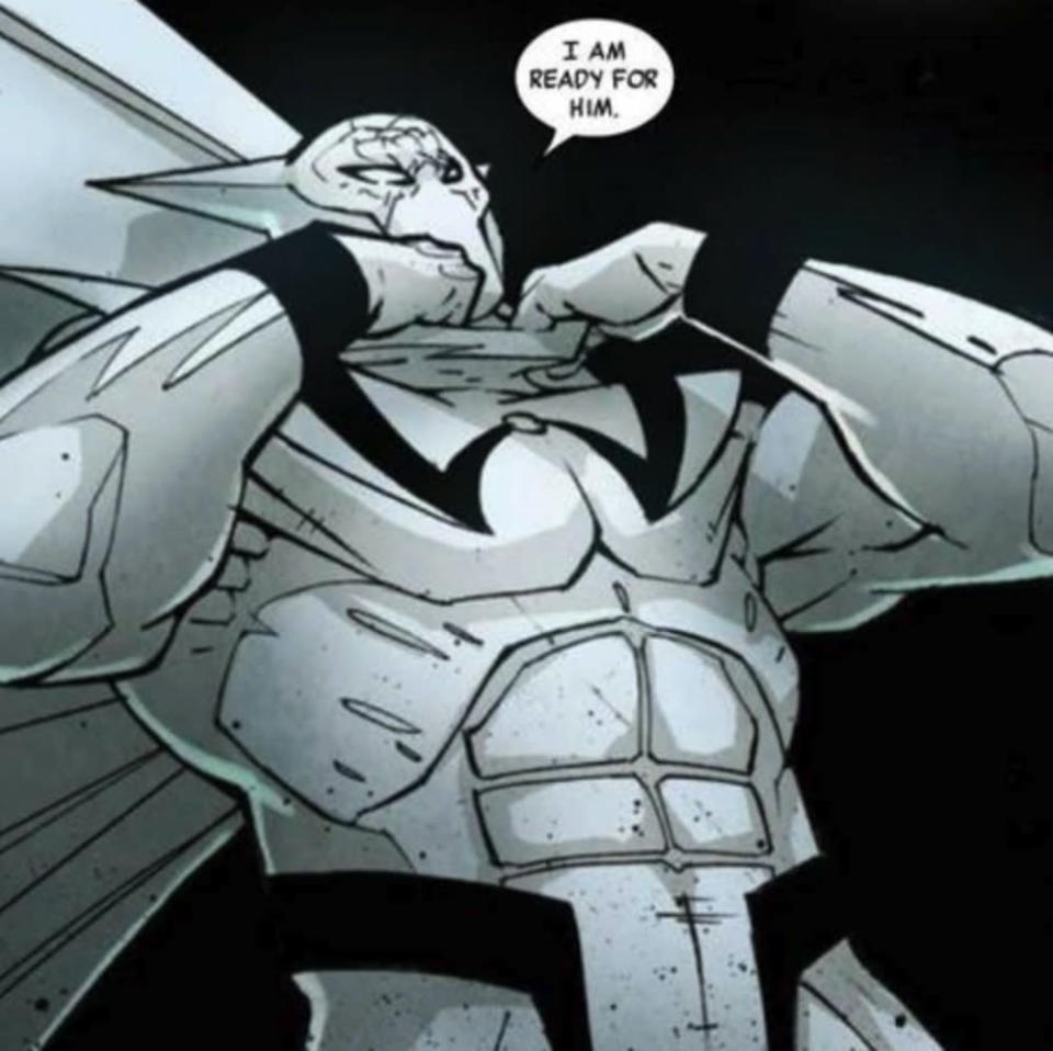 The White Wolf in Marvel Comics. (Image: Marvel)