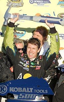Carl Edwards salvaged his season with a win in Phoenix