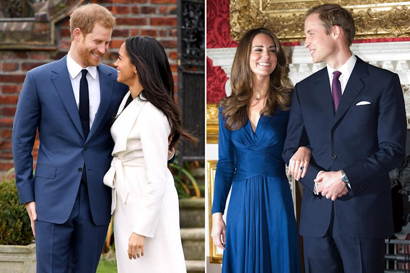 The Rings The Dresses Comparing Meghan Markle And Kate Middletons