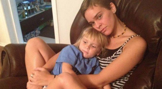 Lacey Spears and her son, Garnett. Source: Supplied