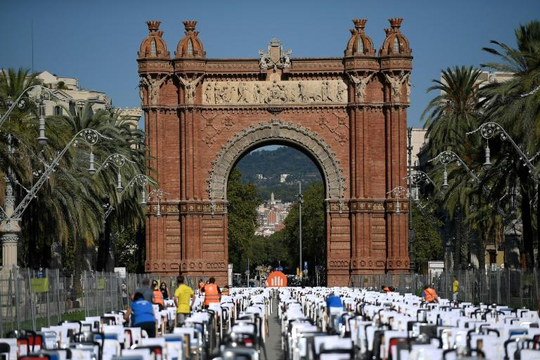 Virus wrecks Catalonia's big national day party