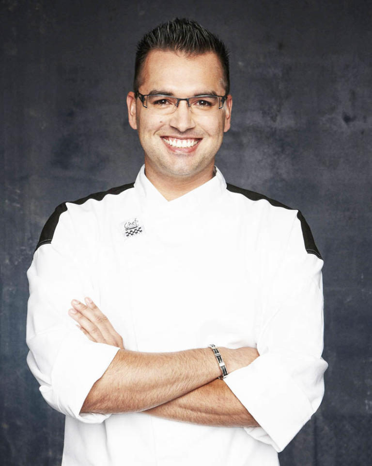 "HELL'S KITCHEN: Anthony Rodriguez (New Orleans, LA) is a contestant on Season 11 of ""Hell's Kitchen."""