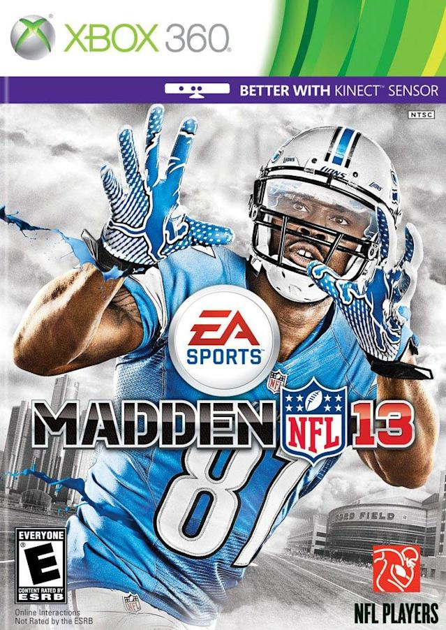 Madden 13 cover (via EA Sports/Microsoft)