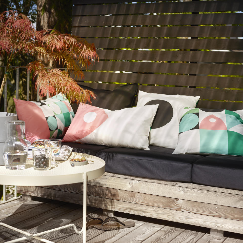IKEA MUSSELBLOMMA cushions, $9.99 each. Photo: supplied.