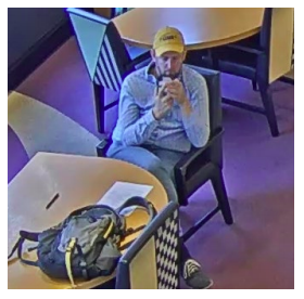 A still photo from surveillance footage of a Manhattan bank where Andrew is alleged to have illegally withdrawn Democracy Prep's funds. (U.S. Attorney's Office for the Southern District of New York)