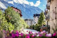 """<p><strong>Population:</strong> 8,906</p> <p>Chamonix's proximity to Mont Blanc has made it one of Europe's most legendary <a href=""""https://www.cntraveler.com/galleries/2015-01-06/best-ski-resorts-in-europe-alps-readers-choice-awards-2014?mbid=synd_yahoo_rss"""" rel=""""nofollow noopener"""" target=""""_blank"""" data-ylk=""""slk:skiing and climbing centers"""" class=""""link rapid-noclick-resp"""">skiing and climbing centers</a>. But the town itself, with panoramic mountain views and rows of slant-roofed buildings, is lovely every month of the year.</p>"""