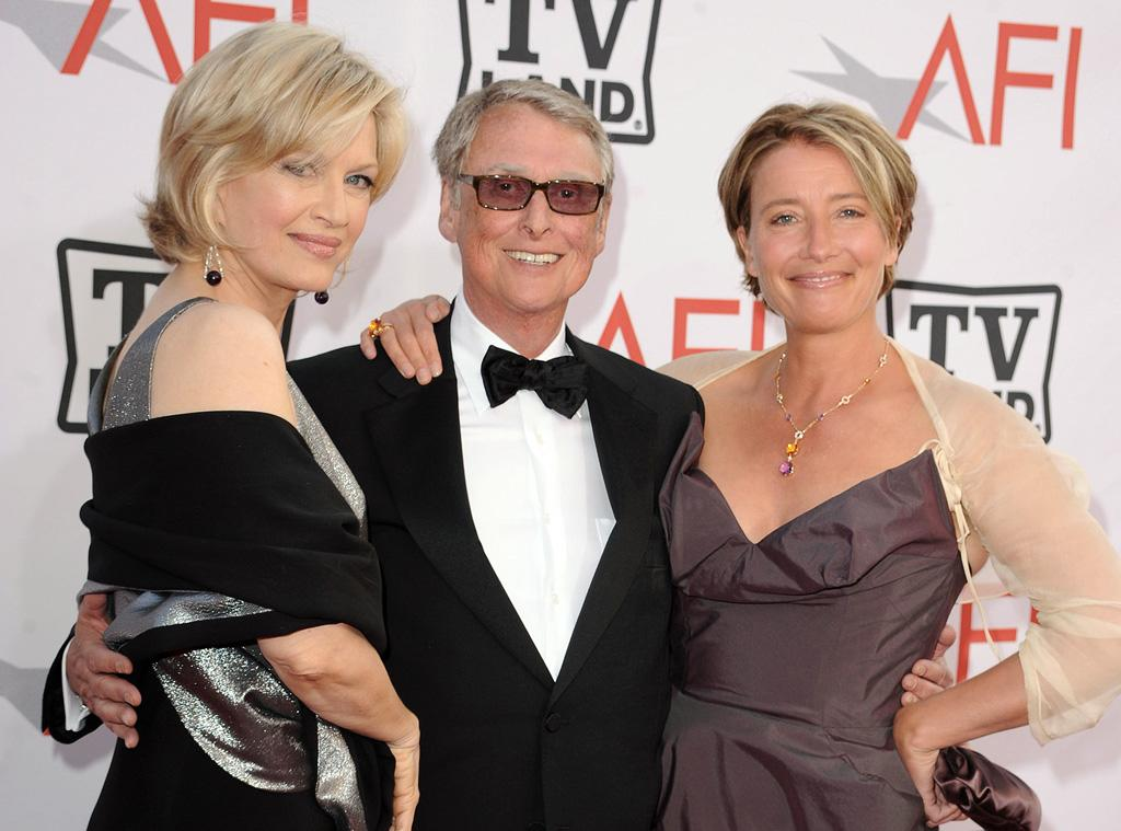 "<a href=""http://movies.yahoo.com/movie/contributor/1800384877"">Diane Sawyer</a>, <a href=""http://movies.yahoo.com/movie/contributor/1800020157"">Mike Nichols</a> and <a href=""http://movies.yahoo.com/movie/contributor/1800024072"">Emma Thompson</a> attend the 38th Annual Lifetime Achievement Award Honoring Mike Nichols at Sony Pictures Studios on June 10, 2010 in Culver City, California."