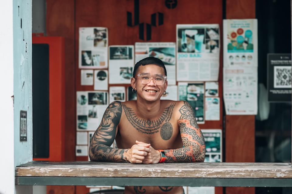 Supapong earned admiration from his colleagues and clients after his weight loss.