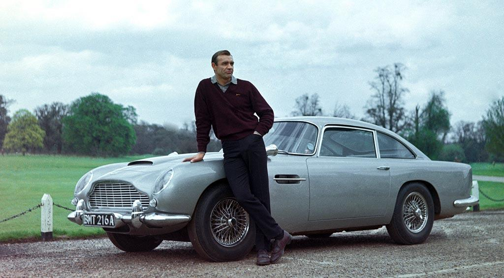 """1963 ASTON MARTIN DB5  Modified/Weaponized by: Q  As Seen In: <a href=""""http://movies.yahoo.com/movie/1800071536/info"""">Goldfinger</a>, <a href=""""http://movies.yahoo.com/movie/1800127497/info"""">Thunderball</a>, <a href=""""http://movies.yahoo.com/movie/1800249529/info"""">Goldeneye</a> and <a href=""""http://movies.yahoo.com/movie/1808476050/info"""">Casino Royale</a>  Key Technical Specs: 282 hp 4.0L straight-6; passenger ejector seat.   Aston Martin has been the make of choice for MI-6 agents for years, but this model remains the gold standard. The DB5 is ideal for fleeing sinister henchmen on Alpine by-ways or mowing them down with the .30 caliber machine guns hidden behind the tail lights. Remember: do not drink martinis and drive.   Available Options: Double-0 agents can upgrade to the <a href=""""http://movies.yahoo.com/movie/1808476050/photo/614209"""">DBS V12</a>."""