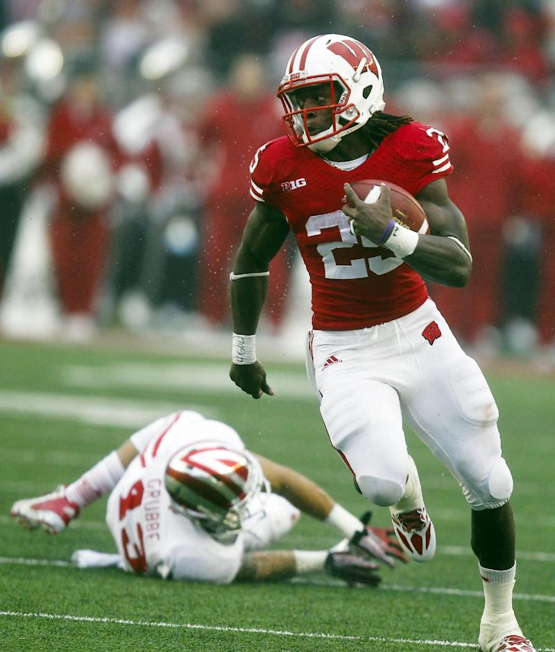 No. 17 Wisconsin routs Indiana 51-3