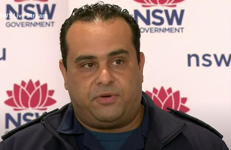 Joe Ibrahim described the scenes paramedics see 'daily' when responding to emergency calls for Covid patients.