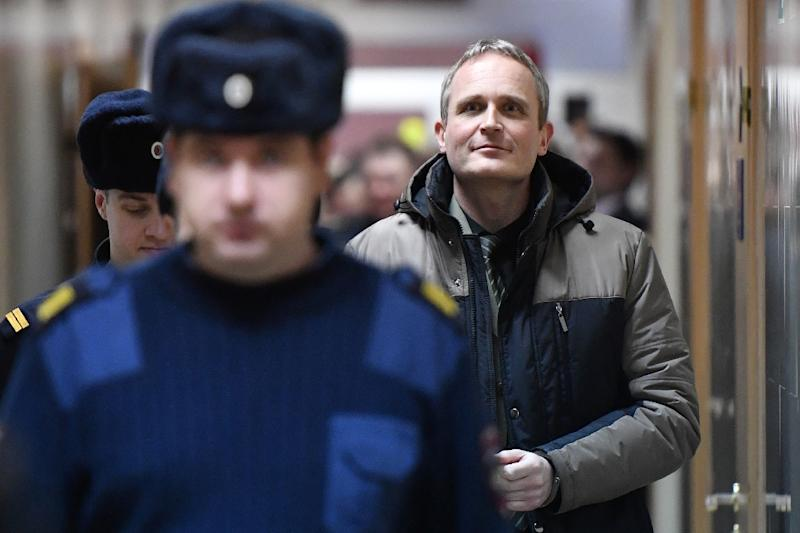 """Dennis Christensen, a 46-year-old Danish citizen, has been sentenced to six years in prison in Russia for """"extremism"""""""