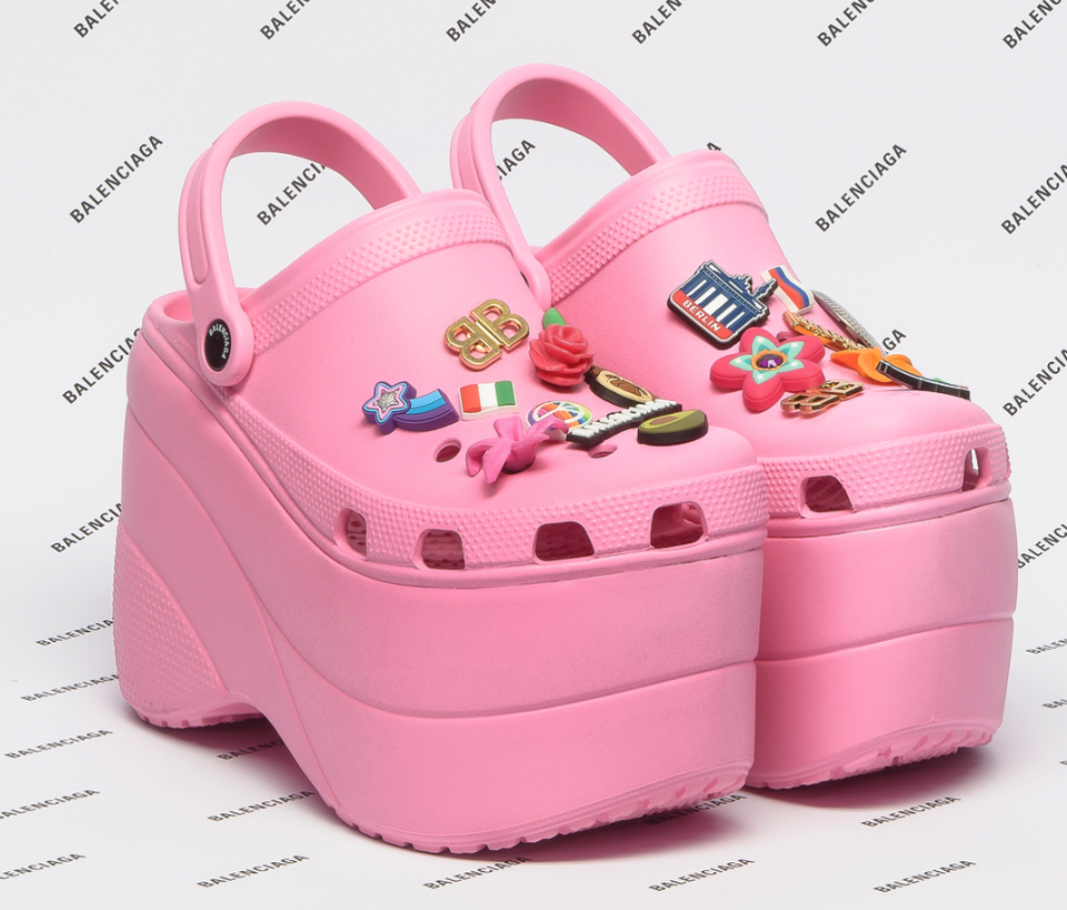 These platform Crocs from Balenciaga will tear your feelings apart