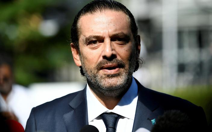 Mr Hariri has been selected to lead his country for a second time - PIROSCHKA VAN DE WOUW/REUTERS