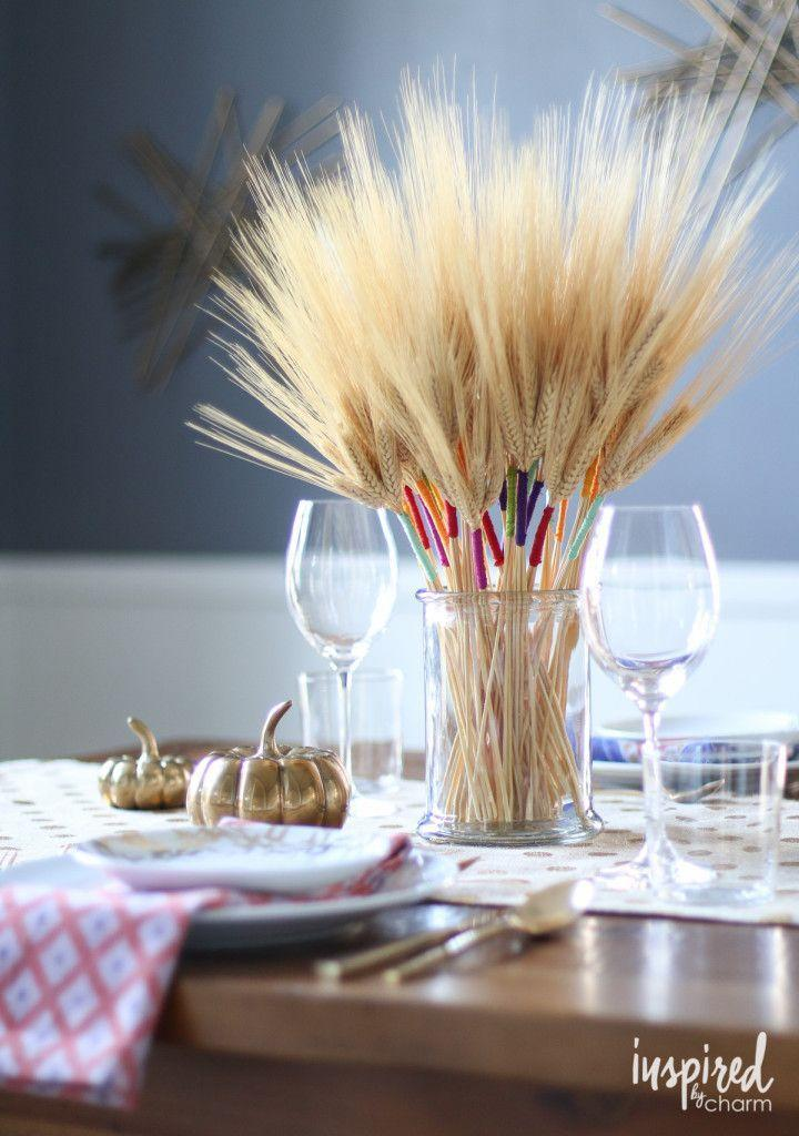 """<p>Use embroidery floss to give stalks of wheat some colorful flair. </p><p><strong>Get the tutorial at <a href=""""http://inspiredbycharm.com/2015/11/diy-color-wrapped-wheat.html"""" rel=""""nofollow noopener"""" target=""""_blank"""" data-ylk=""""slk:Inspired by Charm"""" class=""""link rapid-noclick-resp"""">Inspired by Charm</a>.</strong></p><p><a class=""""link rapid-noclick-resp"""" href=""""https://www.amazon.com/Natural-Premium-Arrangements-Corrugated-Package/dp/B07CZ7B24J/ref=sr_1_1?tag=syn-yahoo-20&ascsubtag=%5Bartid%7C10050.g.2130%5Bsrc%7Cyahoo-us"""" rel=""""nofollow noopener"""" target=""""_blank"""" data-ylk=""""slk:SHOP DRIED WHEAT""""><strong>SHOP DRIED WHEAT</strong></a></p>"""