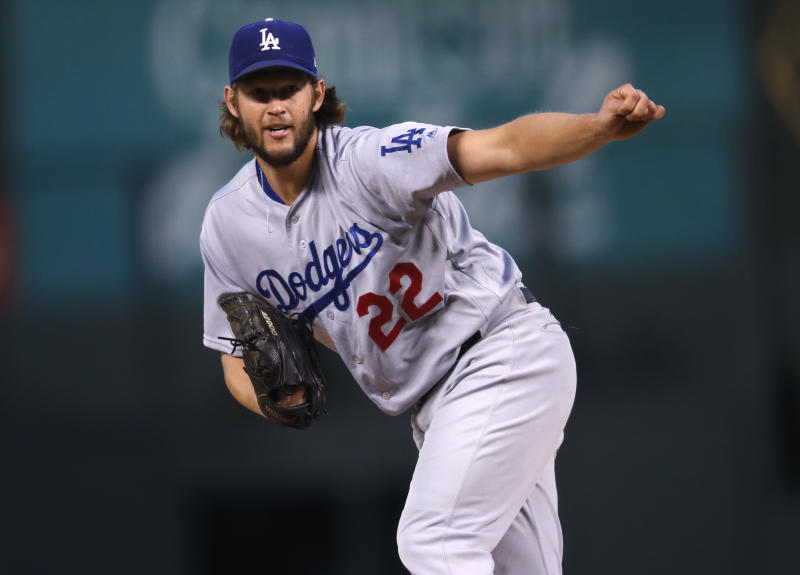 We all want to see if Clayton Kershaw can finally guide the Dodgers to a World Series. (AP)