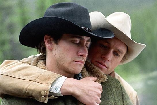 """<em><strong><h3>Brokeback Mountain</h3></strong></em><h3> (2005)<br></h3>Yes, this movie is devastating, but you also can't find two better-looking guys than Heath Ledger and Jake Gyllenhaal to hook up in a tent.<br><br><span class=""""copyright"""">Photo: Focus Features</span>"""