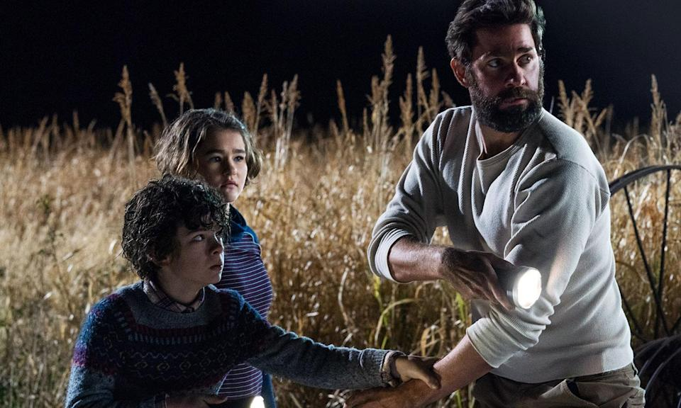<p>As much as we loved <em>Mandy</em>, the defining horror story of 2018 has to be <em>A Quiet Place</em>, a movie directed by Jim from <em>The Office</em>, starring Mary Poppins, that somehow managed to be one of the most intense cinematic experiences any of us have ever had. And any film that builds forcing audiences to shut up and pay attention into its premise is a masterpiece, as far as we're concerned. It might lose some of its magic when we watch it at home, but <em>A Quiet Place</em> was the horror film to beat in terms of delivering sheer movie magic this year. </p>