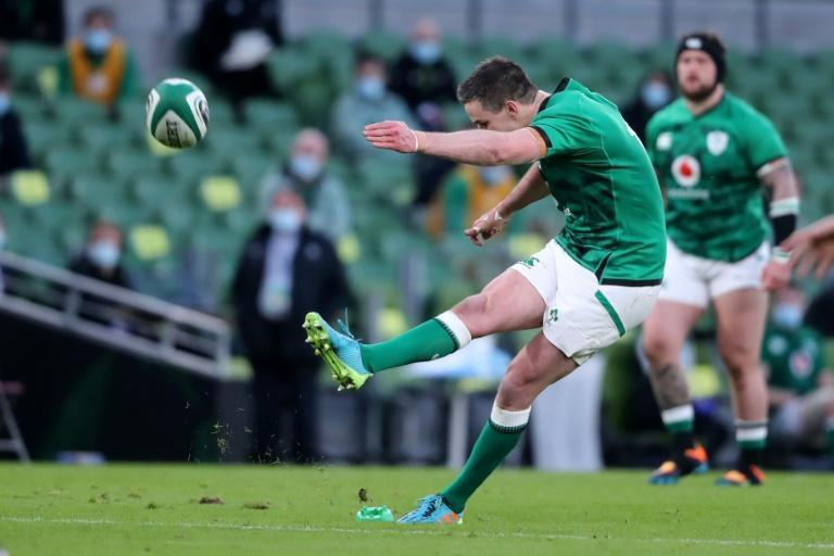 Ireland skipper Johnny Sexton was peerless with the boot, contributing 22 points to again show how important he is to the side at the age of 35
