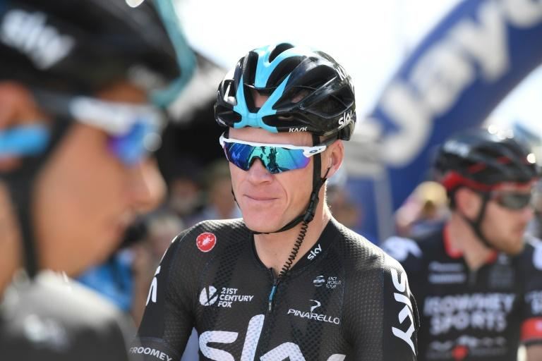 Three-time Tour de France winner Britain's Chris Froome of Team Sky is laying the groundwork to defend his title in the upcoming Critérium du Dauphiné