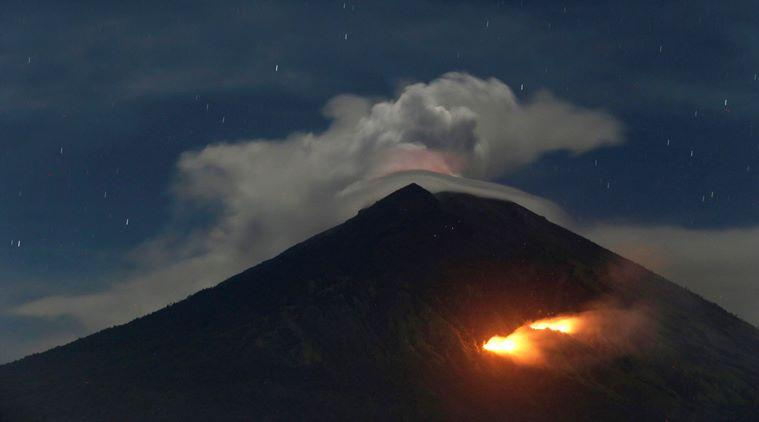 Volcano on Indonesia's Bali erupts, flights canceled