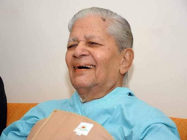Madhavsinh Solanki passes away at the age of 94. (Photo: Amit Chavda Twitter)