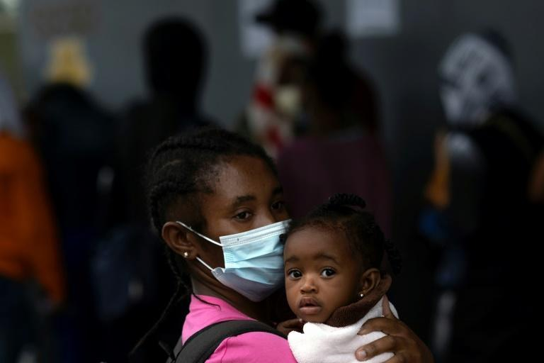 Mexico has suggested that it could grant refugee status to 13,255 Haitians (AFP/Guillermo Arias)