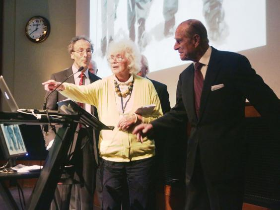 Jan Morris was the first reporter to break the news that Sir Edmund Hillary and Sherpa Tenzing had conquered Mount Everest (PA)