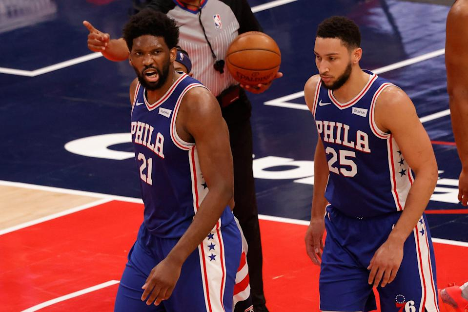 Joel Embiid, Ben Simmons and the Sixers are rolling towards the second round.