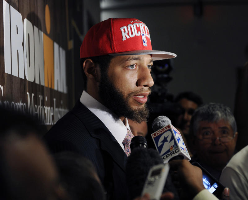 The Houston Rockets drafted Royce White with the No. 16 pick in the 2012 NBA draft. He never played a minute for the team. (AP)