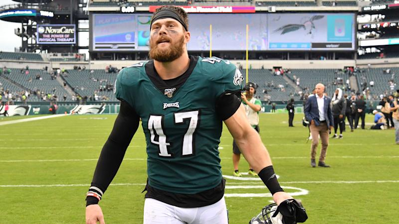 Eagles LB Nate Gerry apologizes for offensive tweets from his past