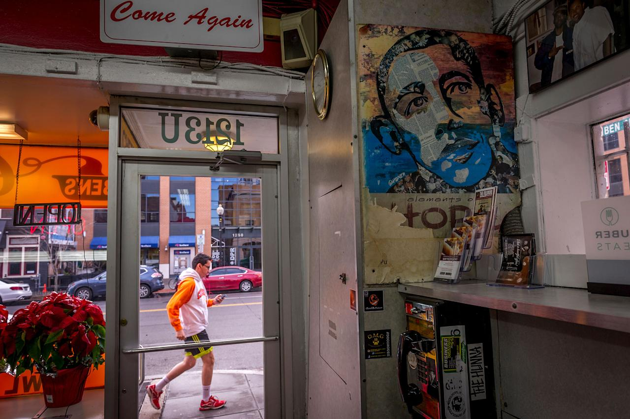 "<p>""I'm 83 years old; I never expected to see it — an African-American president during my years. … Not only that, I lived to see him do a good job,"" said Ben's Chili Bowl proprietor Virginia Ali. The restaurant, which was one of a handful of area businesses to survive the 1968 riots, was down to one employee by 1991. Under Obama, it has expanded into a space next door and added a satellite branch across town. (Photo: Mary F. Calvert for Yahoo News) </p>"