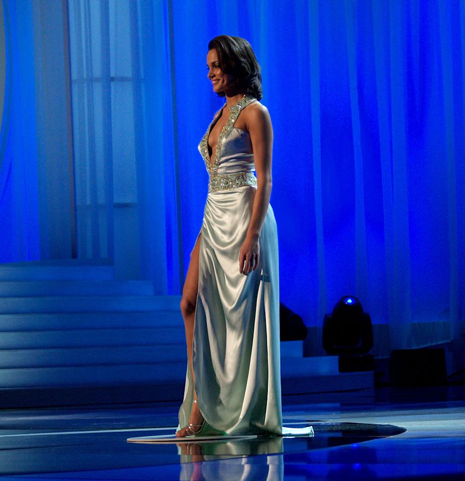 Miss Pennsylvania- Nicole Brewer during 2006 Miss America Pageant - Rehearsals - Day Two at Aladdin Resort and Casino in Las Vegas, Nevada, United States. (Photo by Bruce Gifford/FilmMagic)