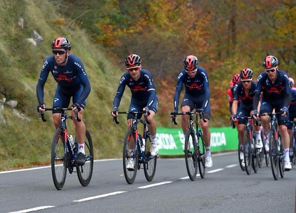 Ineos Grenadiers will have four potential team leaders at the Tour de France in 2021 (AFP via Getty Images)