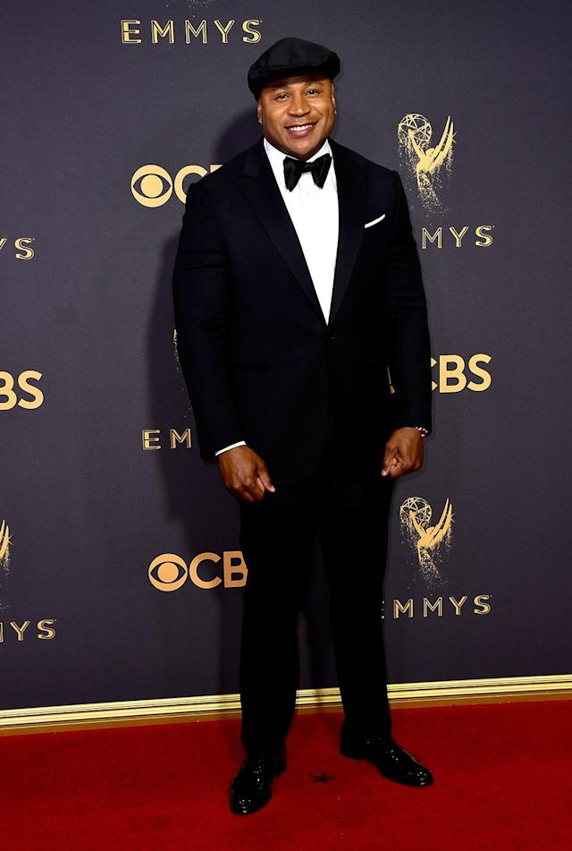<p>LL Cool J attends the 69th Annual Primetime Emmy Awards on September 17, 2017.<br> (Photo: Getty Images) </p>