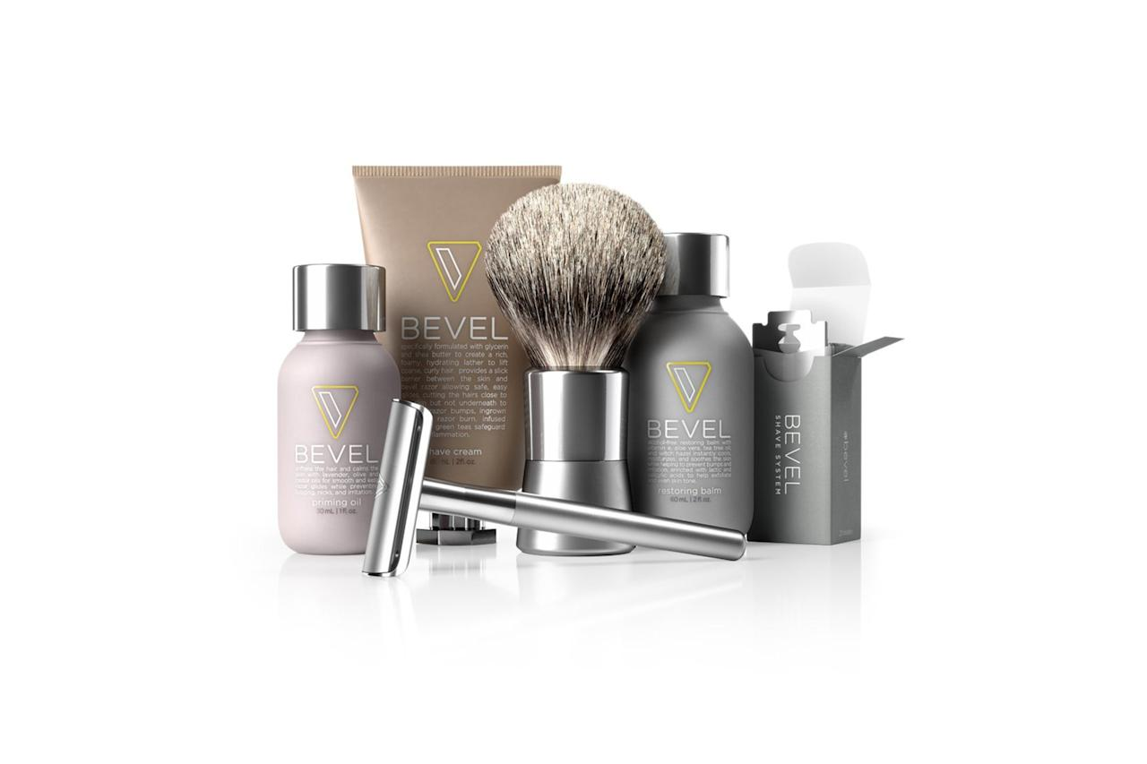 """$90, Amazon. <a href=""""https://www.amazon.com/Bevel-Shave-System-Starter-Clinically/dp/B00IT8K564"""">Get it now!</a>"""