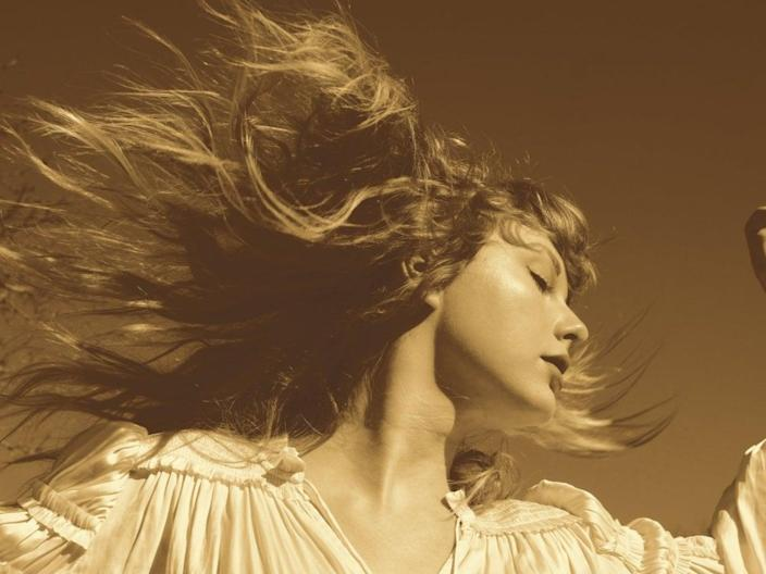 Taylor Swift in artwork for her re-recorded version of Fearless (Republic Records)