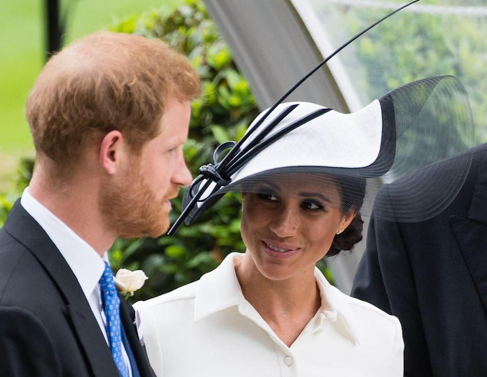 """<p>He <a href=""""https://people.com/royals/prince-harry-pre-wedding-diet-influenced-meghan-meghan-markle/"""" rel=""""nofollow noopener"""" target=""""_blank"""" data-ylk=""""slk:reportedly"""" class=""""link rapid-noclick-resp"""">reportedly</a> swore off pizza — a staple of his lil royal life! — long before the wedding. He's also <a href=""""https://www.menshealth.com/weight-loss/a20102124/prince-harry-diet-weight-loss-wedding/"""" rel=""""nofollow noopener"""" target=""""_blank"""" data-ylk=""""slk:said"""" class=""""link rapid-noclick-resp"""">said</a> to have cut out carbs almost entirely, at least leading up to his wedding.</p>"""