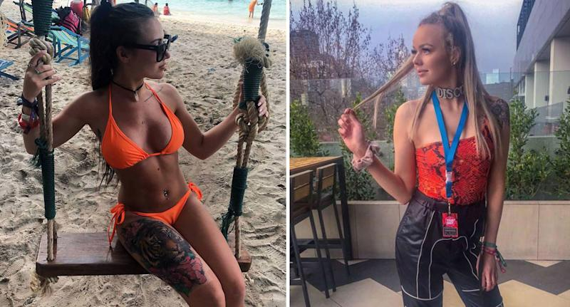 Two 21-year-old girls from Victoria suffered alleged methanol poisoning after drinking cocktails at a Bali bar.