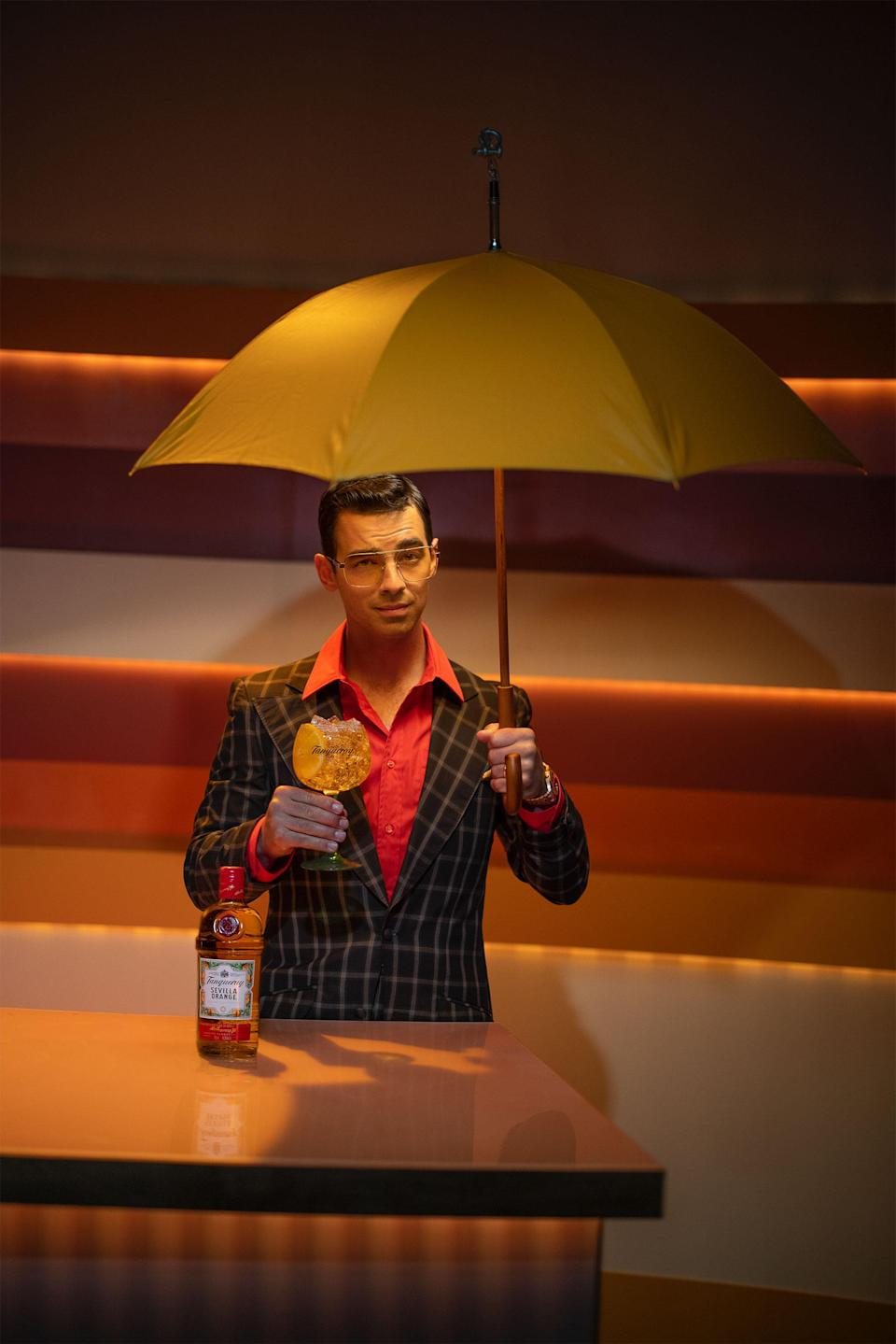 Tanqueray teamed up with Joe Jonas to launch 'Today's Forecast: Sunshine in a Glass,' a new content series introducing Tanqueray Sevilla Orange nationally. / Photo Credit: Atiba Jefferson
