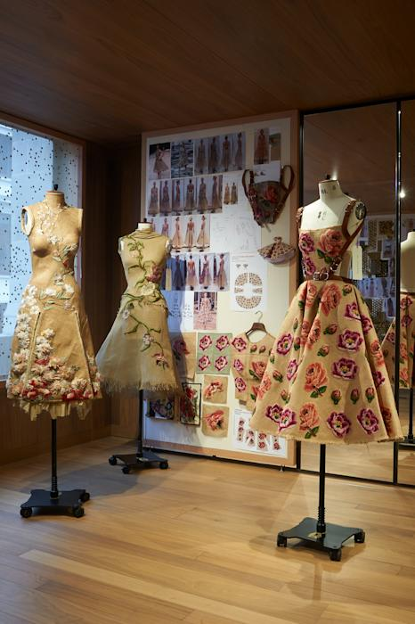 Inside the McQueen 'Roses' exhibition
