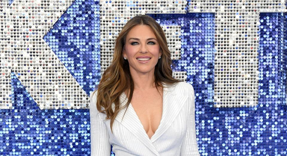 Elizabeth Hurley has opened up about her skincare routine. (Getty Images)