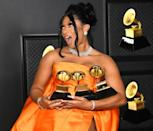 Megan Thee Stallion rose to the top of the 63rd annual Grammys, after a banner year that saw her soar to the pop culture forefront